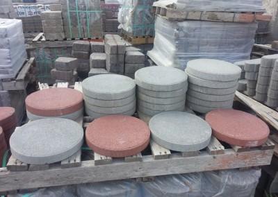 12 Inch Round Patio Stones