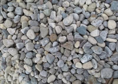 3/4 - 1 inch round stone